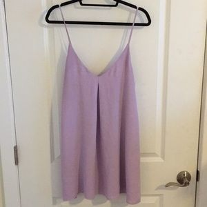 Tobi lavender shift dress